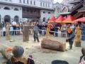 На арене - мастера резни бензопилой | Резьба бензопилой - фестивали, запиловки