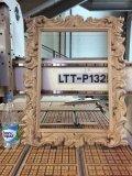 Рама для зеркала, резьба ЧПУ по дереву. | Резные работы из дерева, изготовленные на 3D станке с ЧПУ