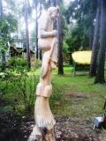Скульптура на корню дерева 1 | Скульптура на корню