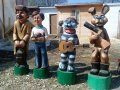 Герои из Простоквашино | Детские городки