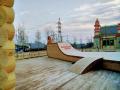 Скейт парк. | Фестивальная площадка на Святоозерской улице. Москва, Косино-Ухтомское.