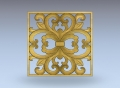 3D модель 8 | 3D модели для плоскорельефной резьбы по дереву на гравировально-фрезерном станке с ЧПУ