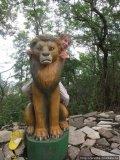 Скульптура в Сафари парке | Сафари-парк в городе Геленджик