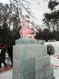 Ледяная скульптурная композиция | Ледяные скульптуры в Москве