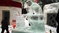 Ледяные скульптуры - МЫСЛИТЕЛЬ | Ледяные скульптуры в Москве