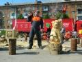 Резьба бензопилой - фестивали, запиловки