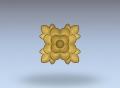 3D модель 280 | 3D модели для плоскорельефной резьбы по дереву на гравировально-фрезерном станке с ЧПУ