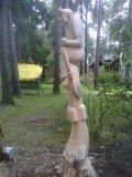 Баба Яга -скульптура на корню | Бабки Ёжки