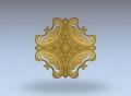 3D модель 247 | 3D модели для плоскорельефной резьбы по дереву на гравировально-фрезерном станке с ЧПУ