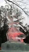 Рабочий и колхозница - ледяная копия | Ледяные скульптуры в Москве