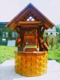 Резной домик на колодец | Колодезный домик