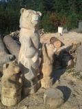 Резные работы для парка Измайлово | Измайловский парк
