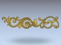 3D модель 26 | 3D модели для плоскорельефной резьбы по дереву на гравировально-фрезерном станке с ЧПУ