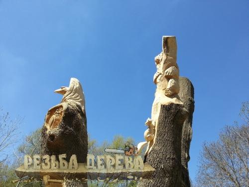Скульптура. Зоопарк в Пензе.