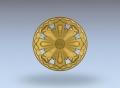 3D модель 23 | 3D модели для плоскорельефной резьбы по дереву на гравировально-фрезерном станке с ЧПУ