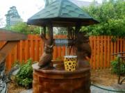 Домик для колодца 12 - Совы на дереве