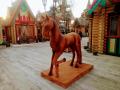 Деревянный конь. | Фестивальная площадка на Святоозерской улице. Москва, Косино-Ухтомское.