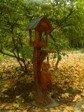Кормушки для птиц и белок из дерева сова на дереве | Кормушки для птиц