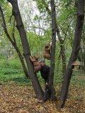 С. Ларионов в своем медвежатнике | Измайловский парк
