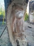 Скульптура в дереве в Пензенском зоопарке | Скульптуры в Пензенском зоопарке