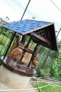 Домик для колодца с совами | Домик для колодца