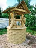 Колодец с совами | Колодезный домик