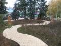 Скульптуры вдоль дорожки. Народный парк Площадь Беларуси. | Народный парк «Площадь Беларуси»