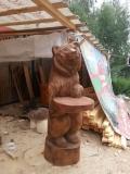 Скульптура медведя для Измайловского парка | Измайловский парк