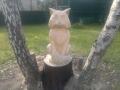 И таких зверей можно вырезать из пенька дерева | Скульптура на корню