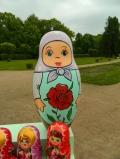 Красивая матрёшка с цветочком | Матрёшки
