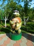 Черепаха ТОРТИЛА - скульптура из дерева | Персонажи сказок и мультиков