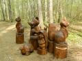 Скульптуры из дерева для парка ЛОСИНЫЙ ОСТРОВ | Парк «Лосиный остров»