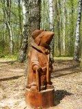 Парковая скульптура - крот | Парковая скульптура