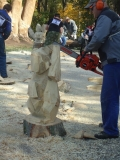Резьба по дереву бензопилой - участник фестиваля С. Ларионов | Резьба бензопилой - фестивали, запиловки