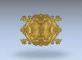 3D модель 61 | 3D модели для плоскорельефной резьбы по дереву на гравировально-фрезерном станке с ЧПУ