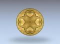 3D модель 37 | 3D модели для плоскорельефной резьбы по дереву на гравировально-фрезерном станке с ЧПУ