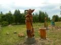 Баба-Яга на Поляне сказок | Русский парк в городе Переславль-Залесский