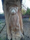 Деревянная скульптура в Пензенском зоопарке | Скульптуры в Пензенском зоопарке