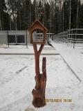 Кормушка для контактного зооуголка. | Вольерный комплекс в Крюковском лесопарке Зеленограда