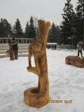 Скульптура из дерева. Зеленоград. | Вольерный комплекс в Крюковском лесопарке Зеленограда