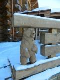 Медведь в заборе | Скульптуры