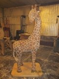 Жираф из дерева | Детские городки