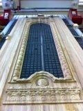 Резная накладка на железную дверь из дуба. Изготовлено на 3D станке с ЧПУ. | Резные работы из дерева, изготовленные на 3D станке с ЧПУ