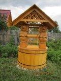 Колодезный домик с мишками | Колодезный домик