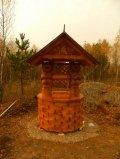 Колодезный домик с медведями | Колодезный домик