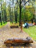 Скамеечки в Измайловском парке | Парковая скульптура