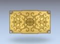 3D модель 46 | 3D модели для плоскорельефной резьбы по дереву на гравировально-фрезерном станке с ЧПУ