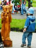 Скульптура из дерева | Парковая скульптура