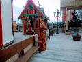 Жар птица из дерева. | Фестивальная площадка на Святоозерской улице. Москва, Косино-Ухтомское.