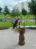 Кормушки для птиц и белок из дерева для парка | Кормушки для птиц